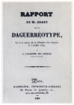 Informe oficial de Arago sobre la Daguerrotipia.
