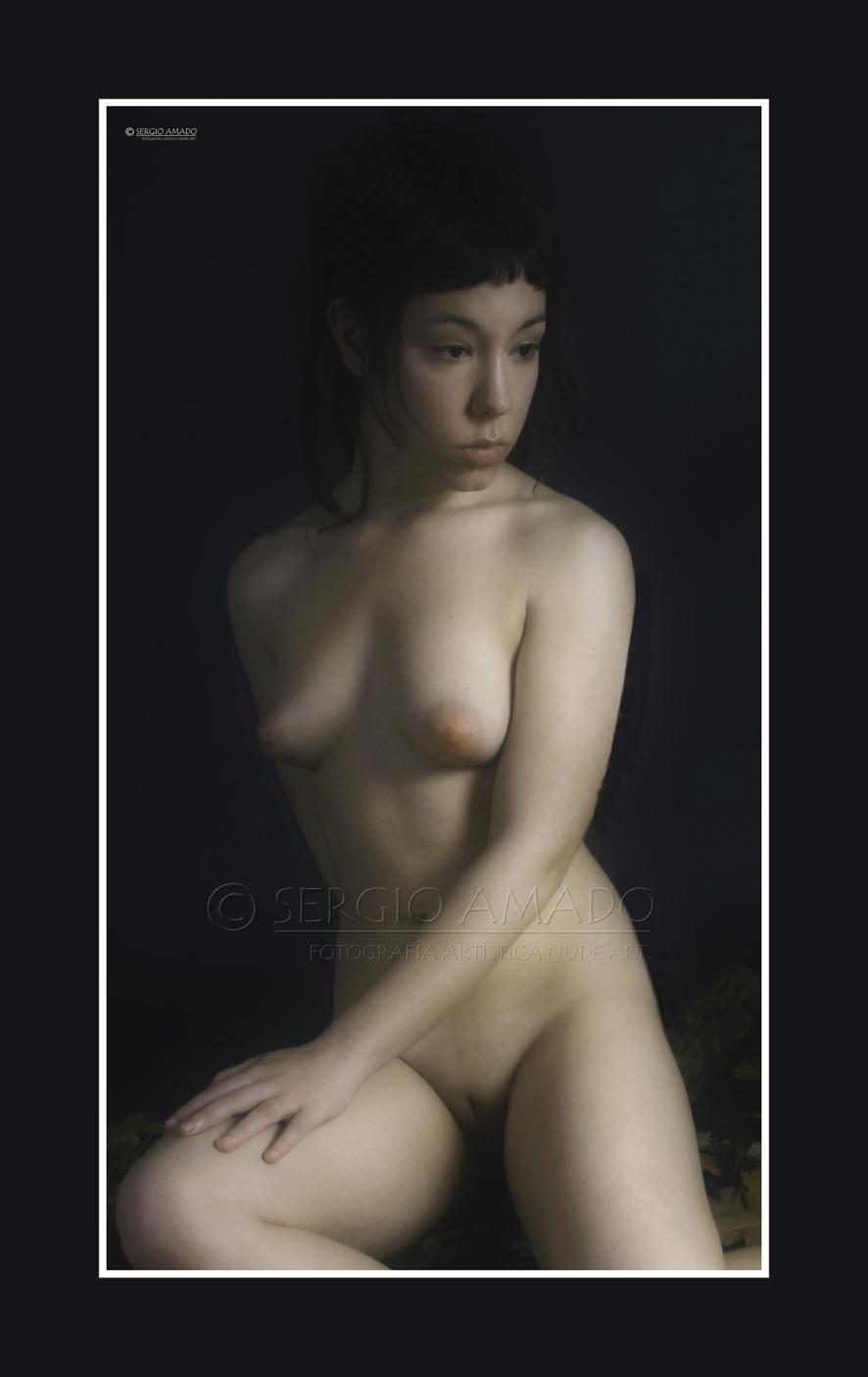 Arte ruso del muchacho desnudo