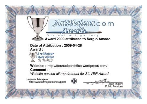 premio artmajeur 2009